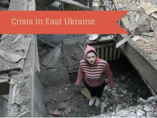 Crisis in east Ukraine