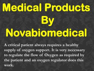 Medical Products By Novabiomedical
