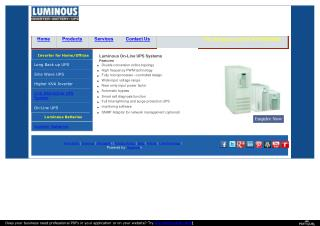 Buy Luminous Online UPS