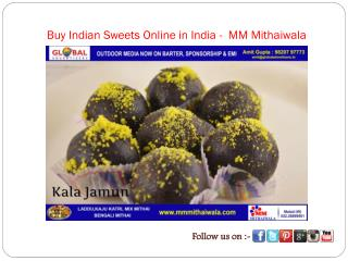 Buy Indian Sweets Online in India -  MM Mithaiwala