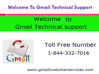 Toll Free 1-844-332-7016  for Gmail Customer