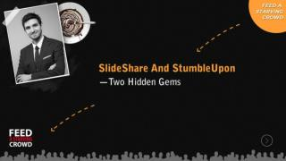 Slide Share And Stumble Upon Two Hidden Gems
