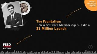 The Foundation How A Software Membership Site Did A $ 1 Mill