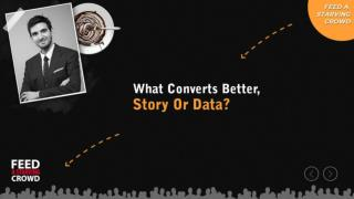 What Converts Better Story Or Data
