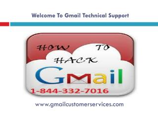 Gmail Technical Support 1-844-332-7016 for Gmail Password Re
