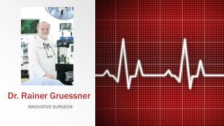 Dr Rainer Gruessner : Established Researcher