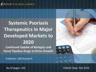 R&I: Systemic Psoriasis Therapeutics Market 2020