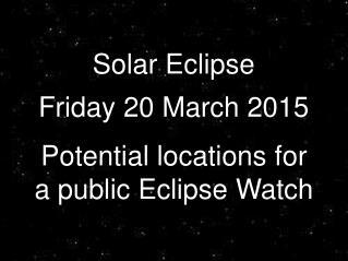 Eclipse Watch HAG
