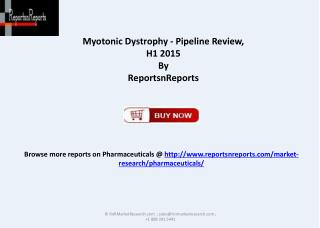 Information on Therapeutic Development for Myotonic Dystroph