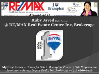 Foreclosure Homes for Sale Brampton