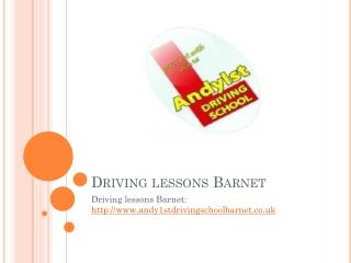 Learn to drive Barnet, Intensive driving courses Barnet