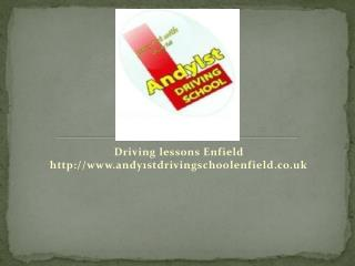 Learn to drive Enfield, Driving school Enfield