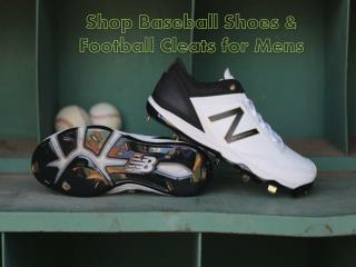 Shop Baseball Shoes & Football Cleats for Mens