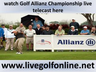 Golf Allianz Championship Golf live