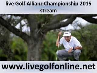 watch Allianz Championship Golf live streaming