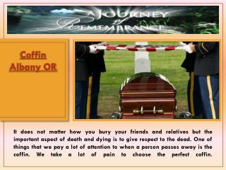 Caskets Albany OR