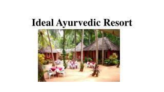 Ayurvedic health resort