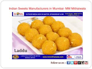 Indian Sweets Manufacturers in Mumbai- MM Mithaiwala