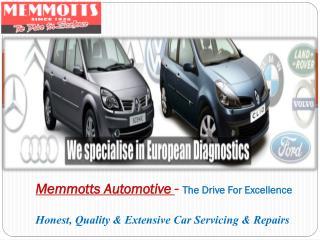 BMW Service in Brisbane by Memmotts Automotive