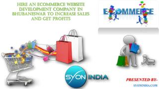 Hire An Ecommerce Website Development Company In Bhubaneswar