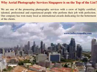 Aerial Photography Services in Singapore