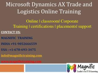 msdynamics ax tl online training