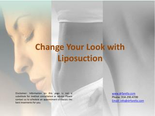 Change Your Look with Liposuction