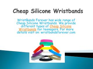 Make your life more stylish with WristBands Forever