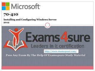 70-410 Exam Questions Answers
