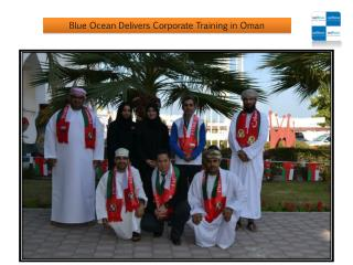 Blue Ocean Delivers Corporate Training in Oman