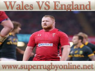 England vs Wales 6 Feb
