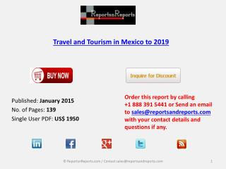 Mexico Travel & Tourism Market to 2019