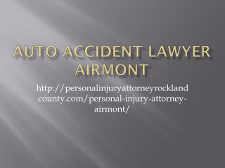 AUTO ACCIDENT LAWYER Airmont