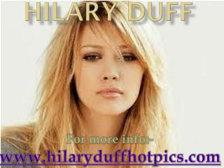 Hilary Duff Latest Images