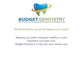 Dental problems can go far beyond your mouth