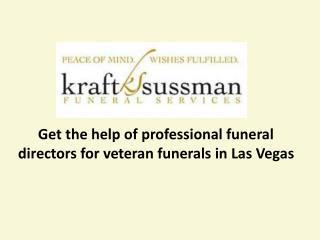 Kraft Sussman funeral services - Funeral home in Las Vegas