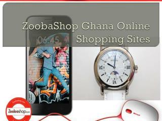 ZoobaShop Ghana Online Shopping Sites
