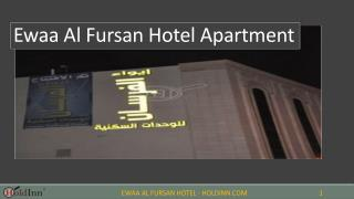 Ewaa Al Fursan Hotel Apartment for rent in Buraidah