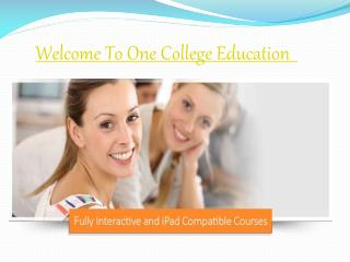 Business Administration Courses Online