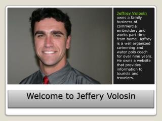 Jeffrey Volosin