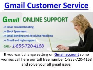 gmail customer service toll free phone number