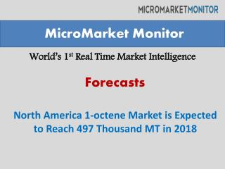 North America 1-octene Market is Expected to Reach 497 Thous
