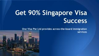 Get 90% Singapore Visa Success