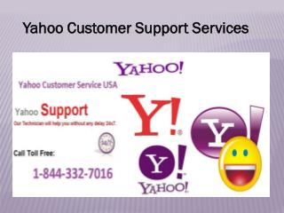Yahoo Technical support is helping 1-844-332-7016