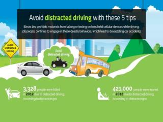 Avoid Distracted Driving With These 5 Tips