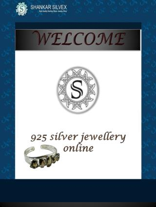 925 silver jewelry Online