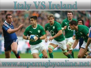watch Italy vs Ireland live telecast
