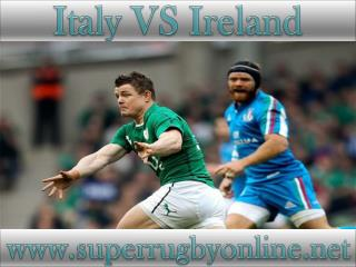 how to watch Ireland vs Italy online
