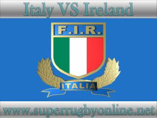 watch Ireland vs Italy online live