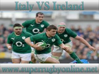 watch Ireland vs Italy live rugby